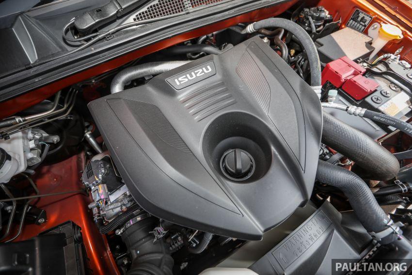Isuzu D-Max 2021 generasi ketiga di M'sia — tujuh varian, 3.0L turbodiesel baru, ADAS; RM89k-RM142k Image #1281807