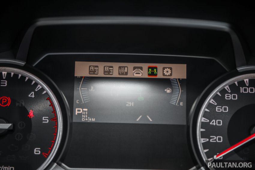 Isuzu D-Max 2021 generasi ketiga di M'sia — tujuh varian, 3.0L turbodiesel baru, ADAS; RM89k-RM142k Image #1281821