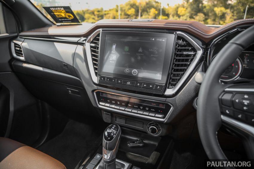 Isuzu D-Max 2021 generasi ketiga di M'sia — tujuh varian, 3.0L turbodiesel baru, ADAS; RM89k-RM142k Image #1281822