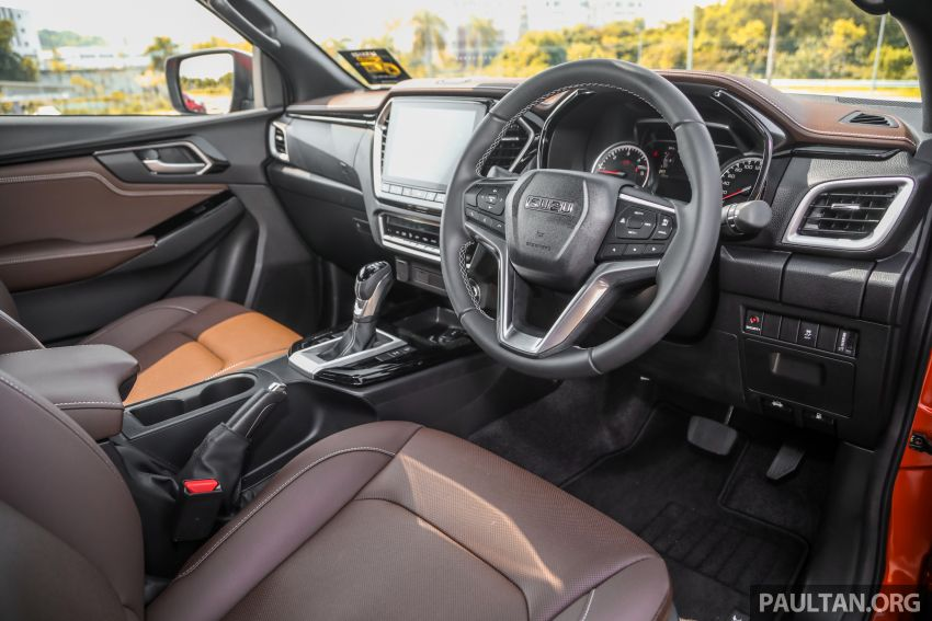 Isuzu D-Max 2021 generasi ketiga di M'sia — tujuh varian, 3.0L turbodiesel baru, ADAS; RM89k-RM142k Image #1281809