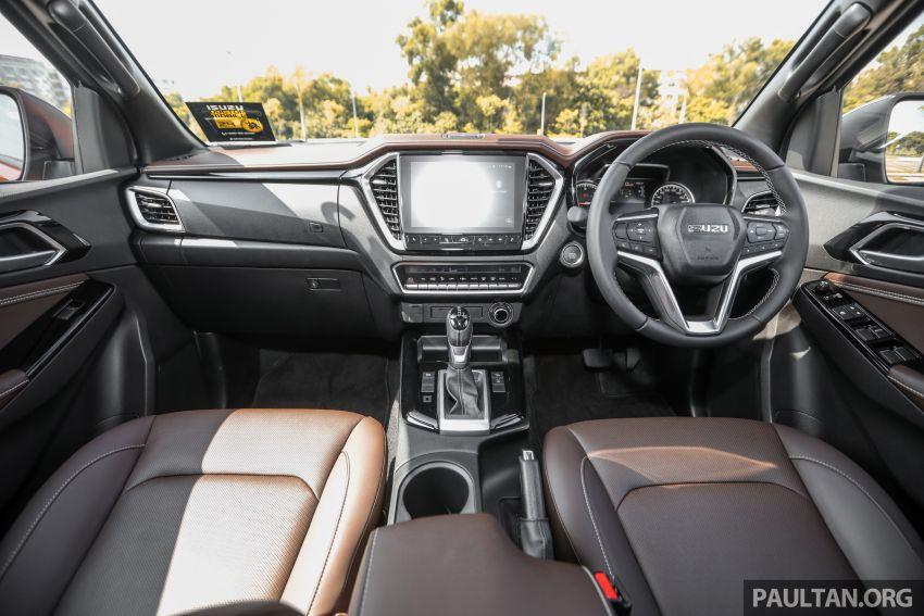 Isuzu D-Max 2021 generasi ketiga di M'sia — tujuh varian, 3.0L turbodiesel baru, ADAS; RM89k-RM142k Image #1281810