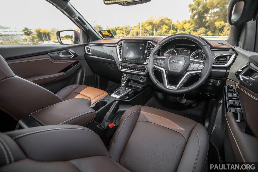Isuzu D-Max 2021 generasi ketiga di M'sia — tujuh varian, 3.0L turbodiesel baru, ADAS; RM89k-RM142k Image #1281859