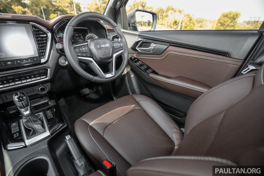 Isuzu D-Max 2021 generasi ketiga di M'sia — tujuh varian, 3.0L turbodiesel baru, ADAS; RM89k-RM142k Image #1281860