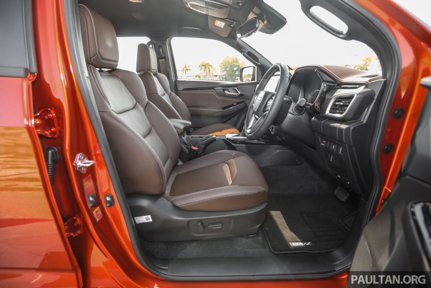 Isuzu D-Max 2021 generasi ketiga di M'sia — tujuh varian, 3.0L turbodiesel baru, ADAS; RM89k-RM142k Image #1281868