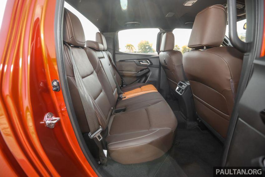 Isuzu D-Max 2021 generasi ketiga di M'sia — tujuh varian, 3.0L turbodiesel baru, ADAS; RM89k-RM142k Image #1281878