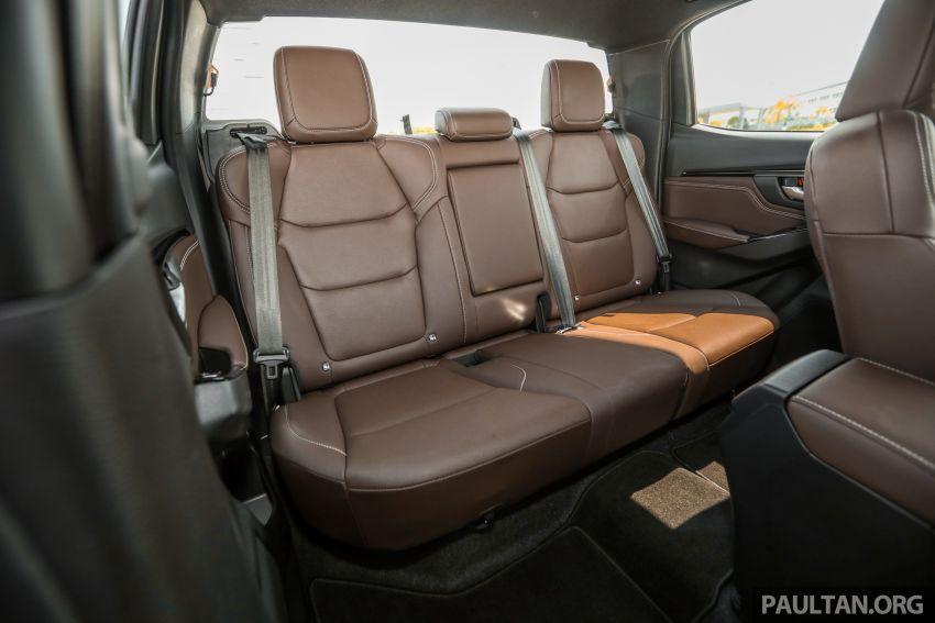 Isuzu D-Max 2021 generasi ketiga di M'sia — tujuh varian, 3.0L turbodiesel baru, ADAS; RM89k-RM142k Image #1281881