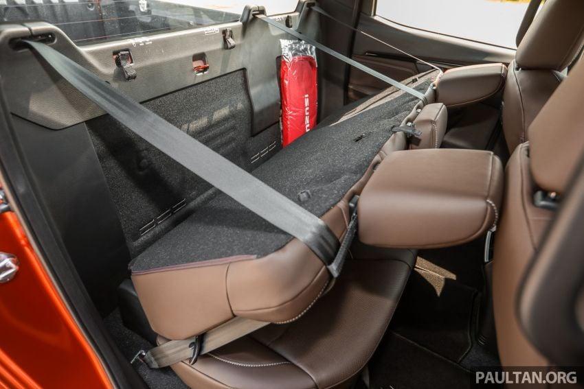Isuzu D-Max 2021 generasi ketiga di M'sia — tujuh varian, 3.0L turbodiesel baru, ADAS; RM89k-RM142k Image #1281883