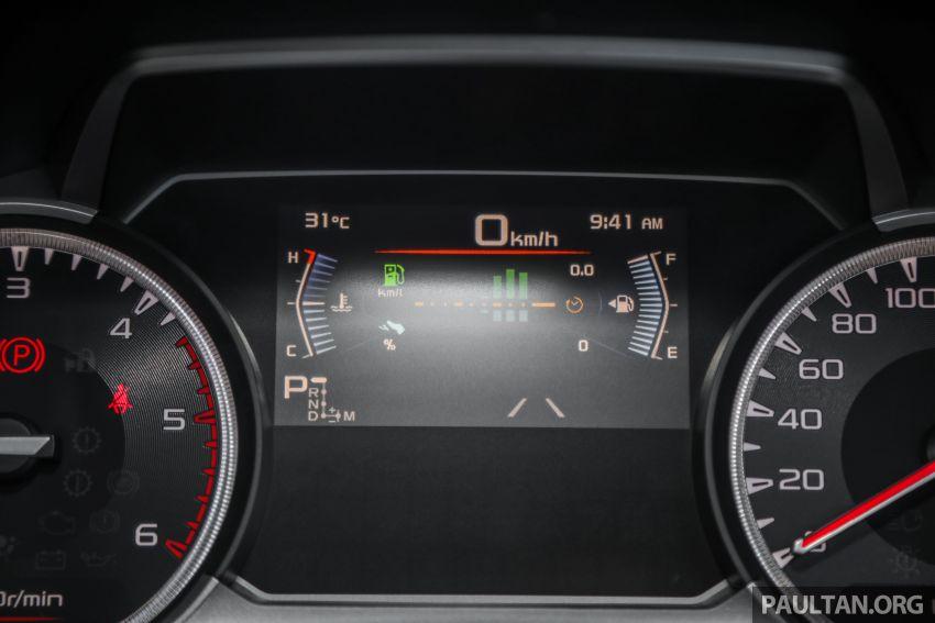 Isuzu D-Max 2021 generasi ketiga di M'sia — tujuh varian, 3.0L turbodiesel baru, ADAS; RM89k-RM142k Image #1281817