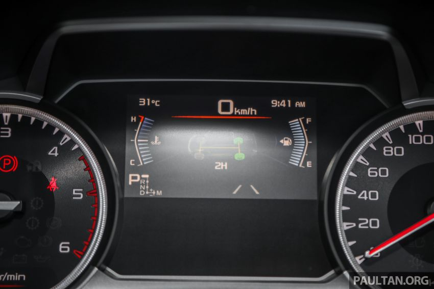 Isuzu D-Max 2021 generasi ketiga di M'sia — tujuh varian, 3.0L turbodiesel baru, ADAS; RM89k-RM142k Image #1281819