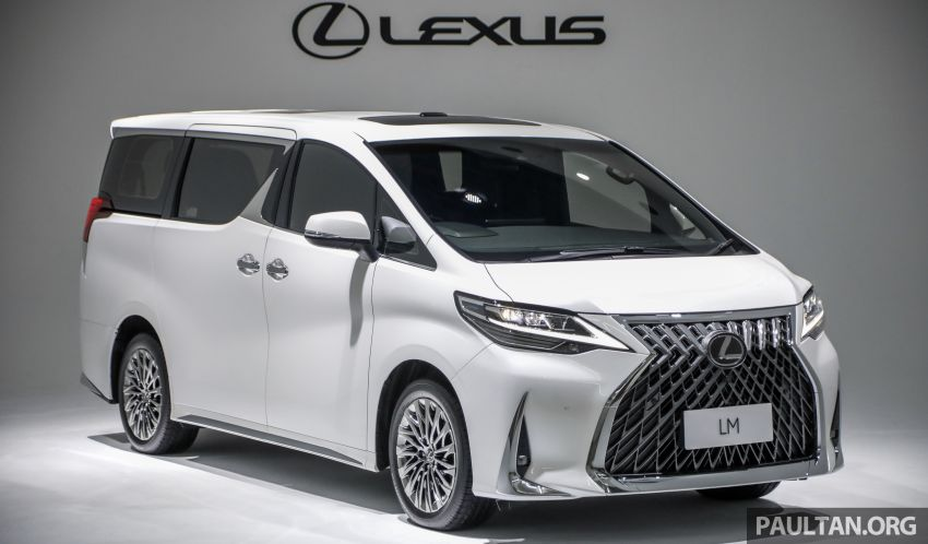 Lexus LM 350 launched in Malaysia – luxury 4-seater Alphard with limo rear seats, 26-inch TV,  RM1.1 million Image #1279038