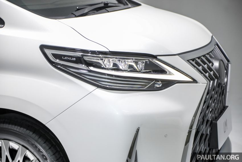 Lexus LM 350 launched in Malaysia – luxury 4-seater Alphard with limo rear seats, 26-inch TV,  RM1.1 million Image #1279048