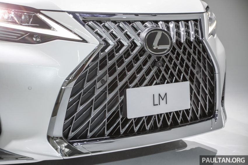 Lexus LM 350 launched in Malaysia – luxury 4-seater Alphard with limo rear seats, 26-inch TV,  RM1.1 million Image #1279051