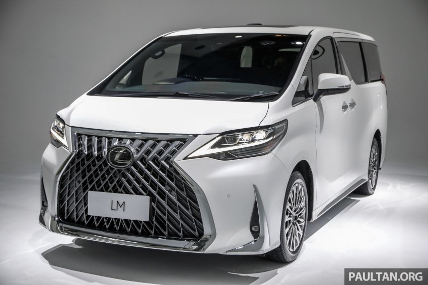 Lexus LM 350 launched in Malaysia – luxury 4-seater Alphard with limo rear seats, 26-inch TV,  RM1.1 million Image #1279039