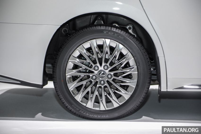 Lexus LM 350 launched in Malaysia – luxury 4-seater Alphard with limo rear seats, 26-inch TV,  RM1.1 million Image #1279060