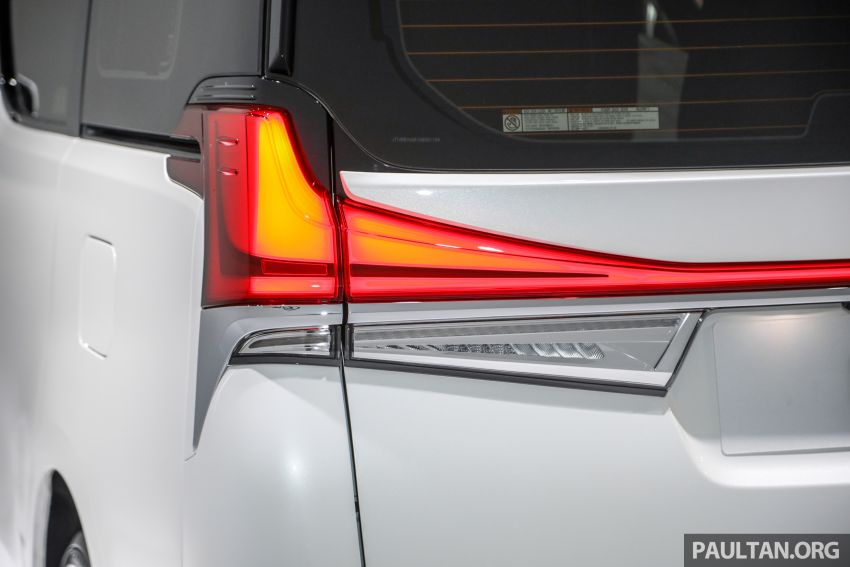 Lexus LM 350 launched in Malaysia – luxury 4-seater Alphard with limo rear seats, 26-inch TV,  RM1.1 million Image #1279062