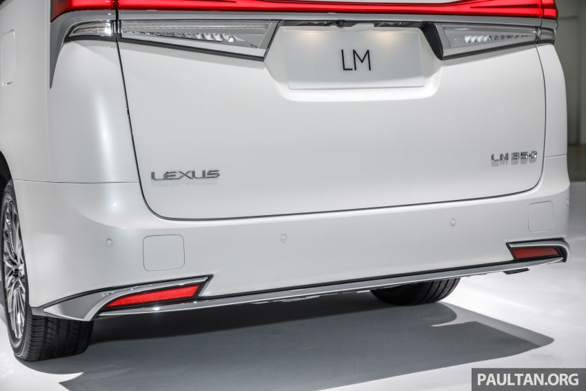 Lexus LM 350 launched in Malaysia – luxury 4-seater Alphard with limo rear seats, 26-inch TV,  RM1.1 million Image #1279067