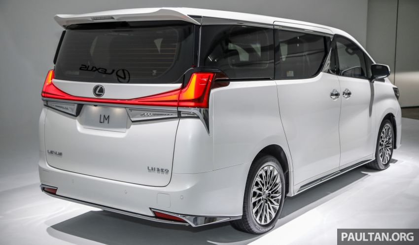 Lexus LM 350 launched in Malaysia – luxury 4-seater Alphard with limo rear seats, 26-inch TV,  RM1.1 million Image #1279040