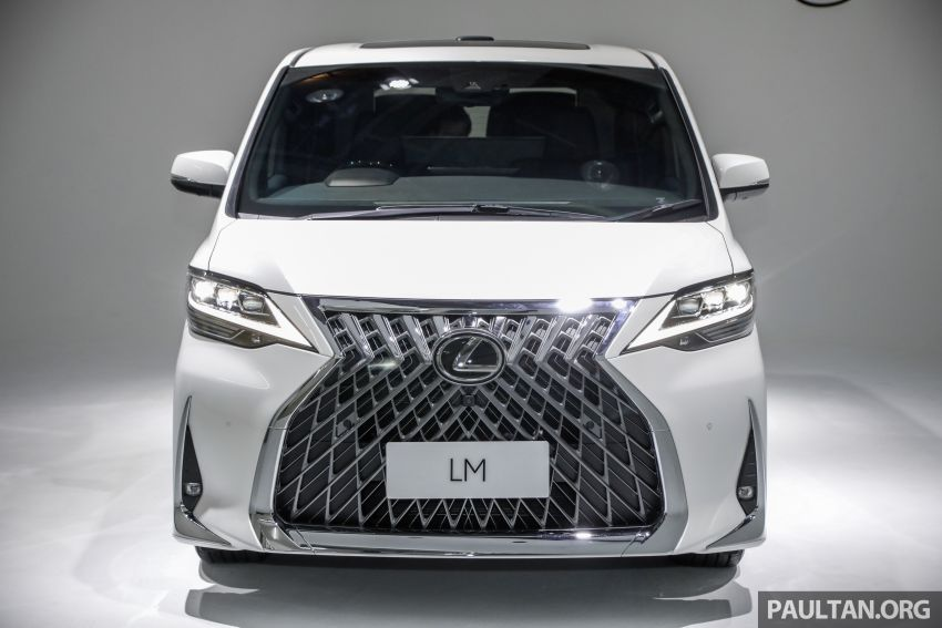 Lexus LM 350 launched in Malaysia – luxury 4-seater Alphard with limo rear seats, 26-inch TV,  RM1.1 million Image #1279042