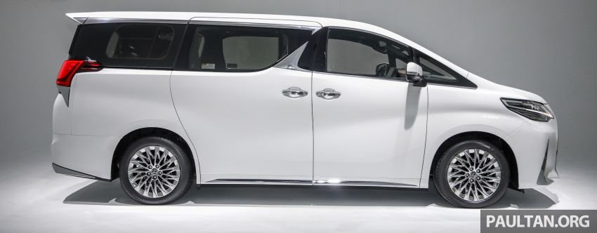 Lexus LM 350 launched in Malaysia – luxury 4-seater Alphard with limo rear seats, 26-inch TV,  RM1.1 million Image #1279044