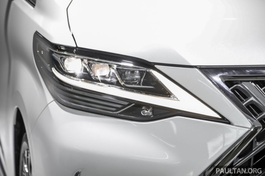 Lexus LM 350 launched in Malaysia – luxury 4-seater Alphard with limo rear seats, 26-inch TV,  RM1.1 million Image #1279046