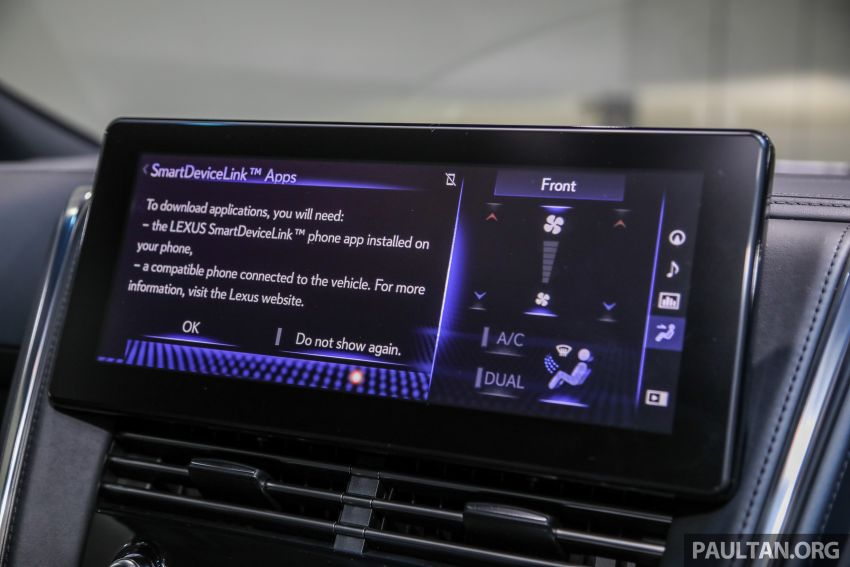 Lexus LM 350 launched in Malaysia – luxury 4-seater Alphard with limo rear seats, 26-inch TV,  RM1.1 million Image #1279092
