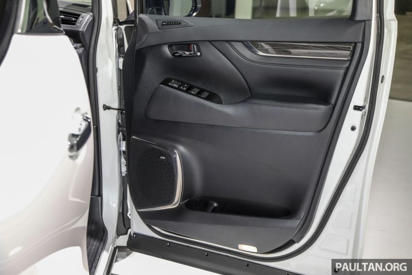 Lexus LM 350 launched in Malaysia – luxury 4-seater Alphard with limo rear seats, 26-inch TV,  RM1.1 million Image #1279108