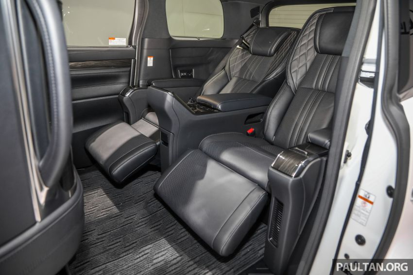 Lexus LM 350 launched in Malaysia – luxury 4-seater Alphard with limo rear seats, 26-inch TV,  RM1.1 million Image #1279121