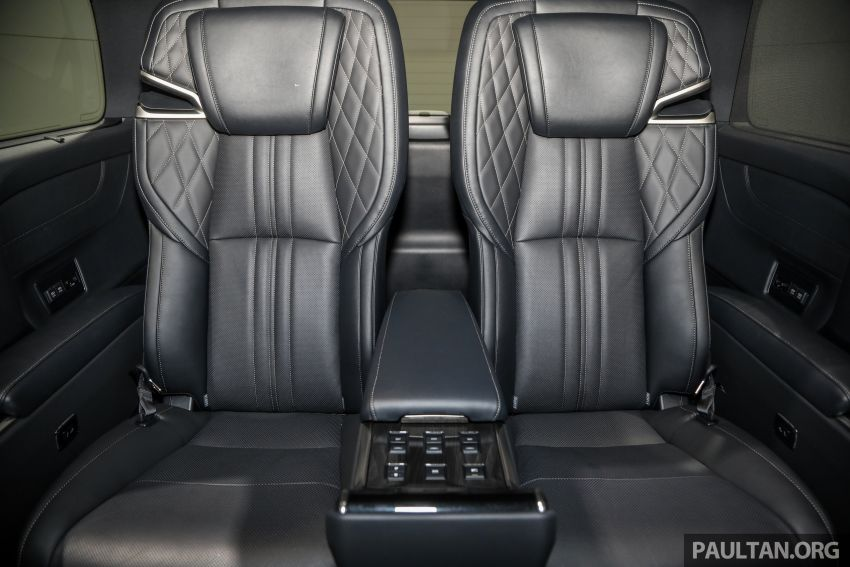 Lexus LM 350 launched in Malaysia – luxury 4-seater Alphard with limo rear seats, 26-inch TV,  RM1.1 million Image #1279122