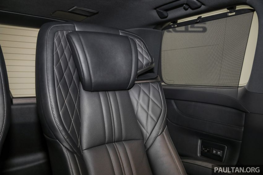Lexus LM 350 launched in Malaysia – luxury 4-seater Alphard with limo rear seats, 26-inch TV,  RM1.1 million Image #1279123