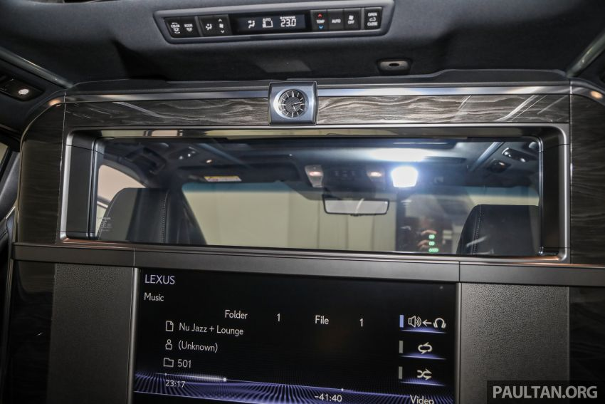Lexus LM 350 launched in Malaysia – luxury 4-seater Alphard with limo rear seats, 26-inch TV,  RM1.1 million Image #1279129