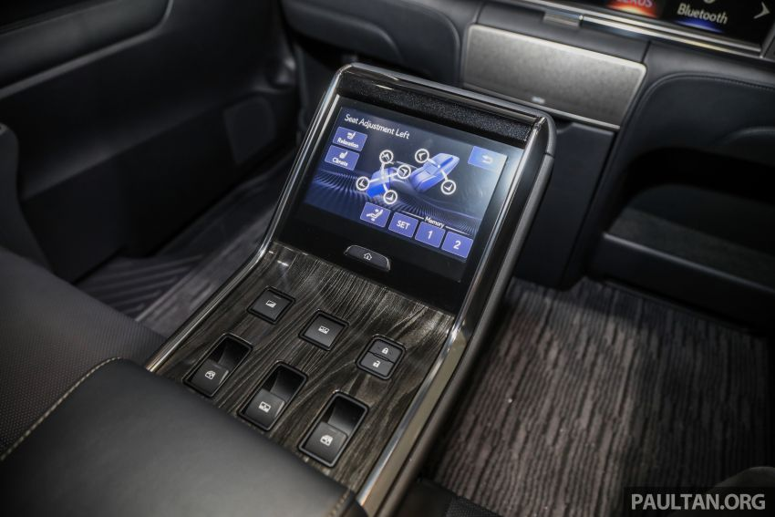Lexus LM 350 launched in Malaysia – luxury 4-seater Alphard with limo rear seats, 26-inch TV,  RM1.1 million Image #1279133