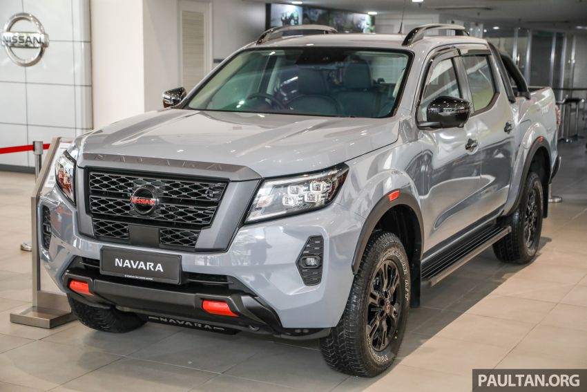 2021 Nissan Navara facelift launched in Malaysia – six variants, including new Pro-4X; from RM92k-RM142k Image #1281650