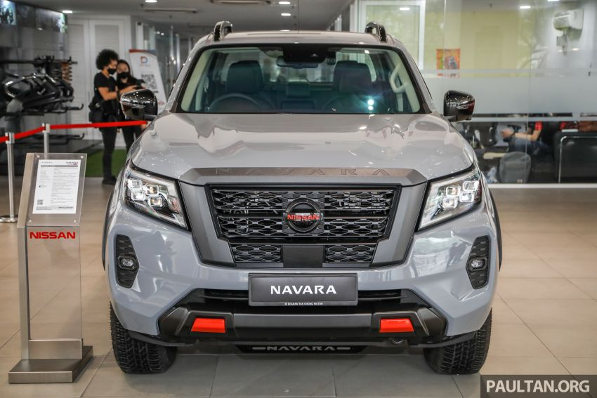 2021 Nissan Navara facelift launched in Malaysia – six variants, including new Pro-4X; from RM92k-RM142k Image #1281651