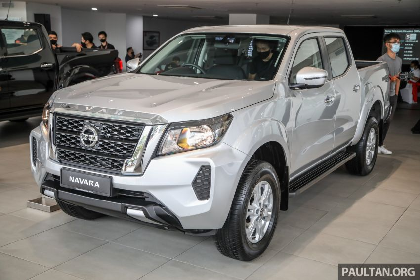 2021 Nissan Navara facelift launched in Malaysia – six variants, including new Pro-4X; from RM92k-RM142k Image #1281915