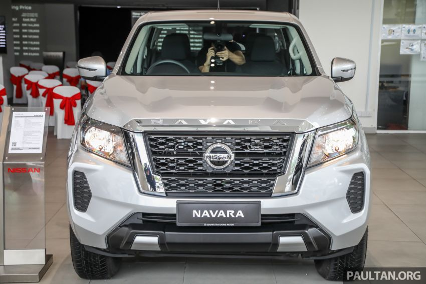 2021 Nissan Navara facelift launched in Malaysia – six variants, including new Pro-4X; from RM92k-RM142k Image #1281917