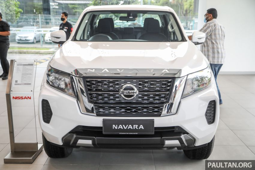 2021 Nissan Navara facelift launched in Malaysia – six variants, including new Pro-4X; from RM92k-RM142k Image #1281963
