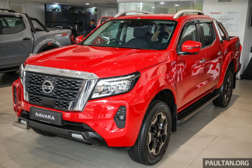 2021 Nissan Navara facelift launched in Malaysia – six variants, including new Pro-4X; from RM92k-RM142k Image #1281720