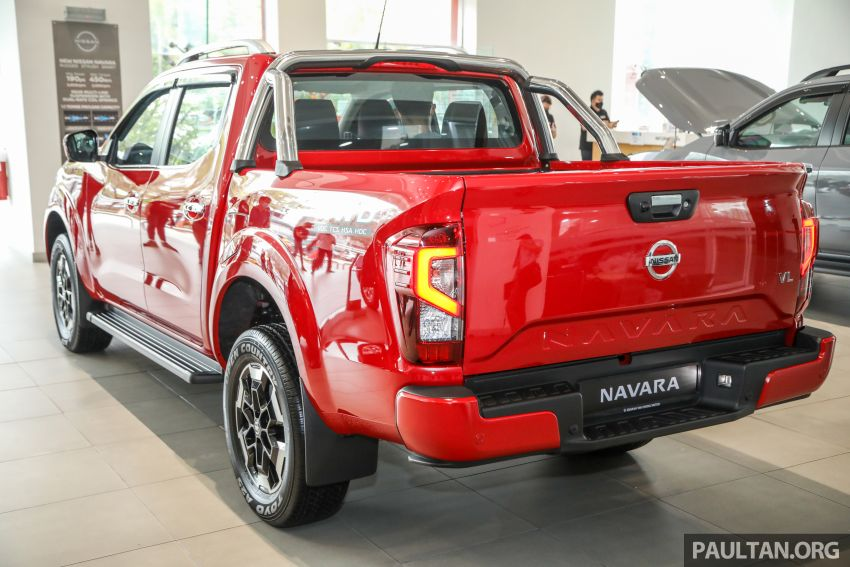 2021 Nissan Navara facelift launched in Malaysia – six variants, including new Pro-4X; from RM92k-RM142k Image #1281721