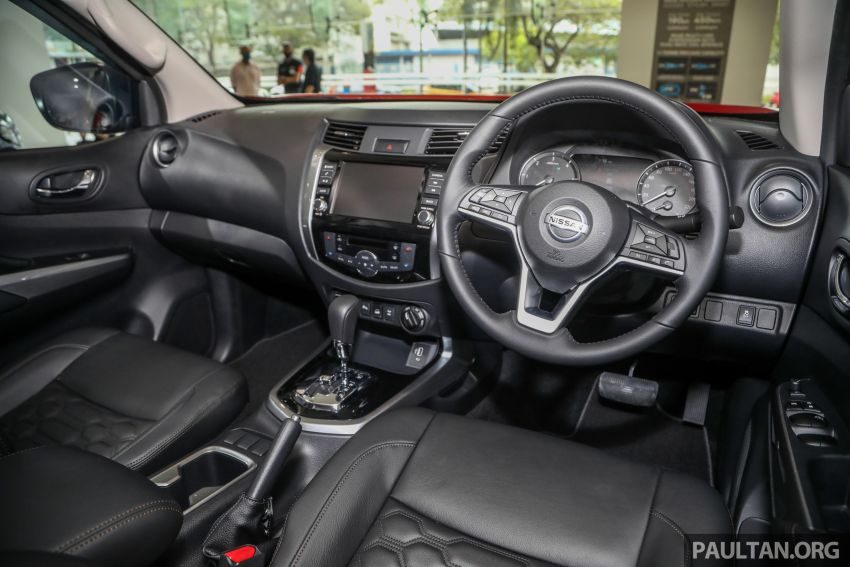 2021 Nissan Navara facelift launched in Malaysia – six variants, including new Pro-4X; from RM92k-RM142k Image #1281786