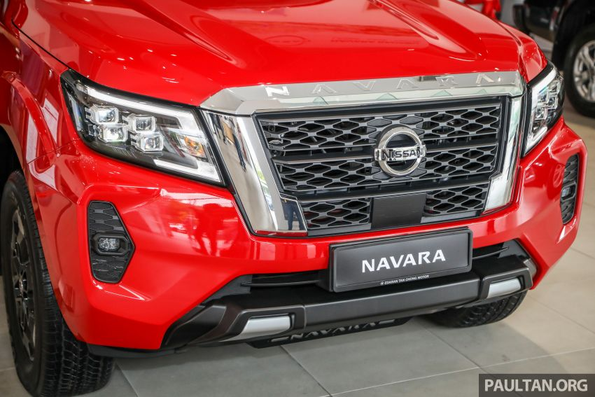 2021 Nissan Navara facelift launched in Malaysia – six variants, including new Pro-4X; from RM92k-RM142k Image #1281724