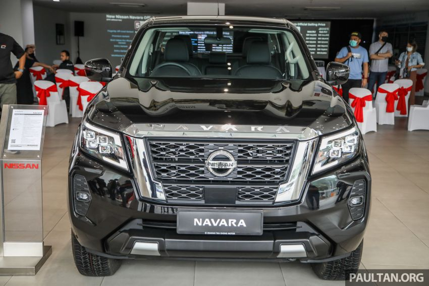 2021 Nissan Navara facelift launched in Malaysia – six variants, including new Pro-4X; from RM92k-RM142k Image #1281834
