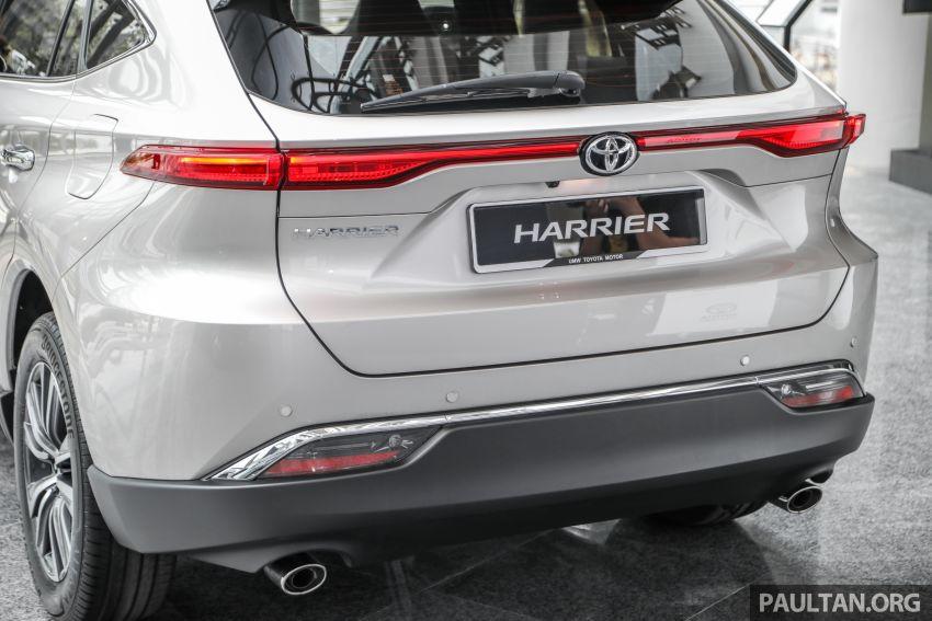 GALLERY: 2021 Toyota Harrier 2.0 Luxury – RM250k Image #1276826