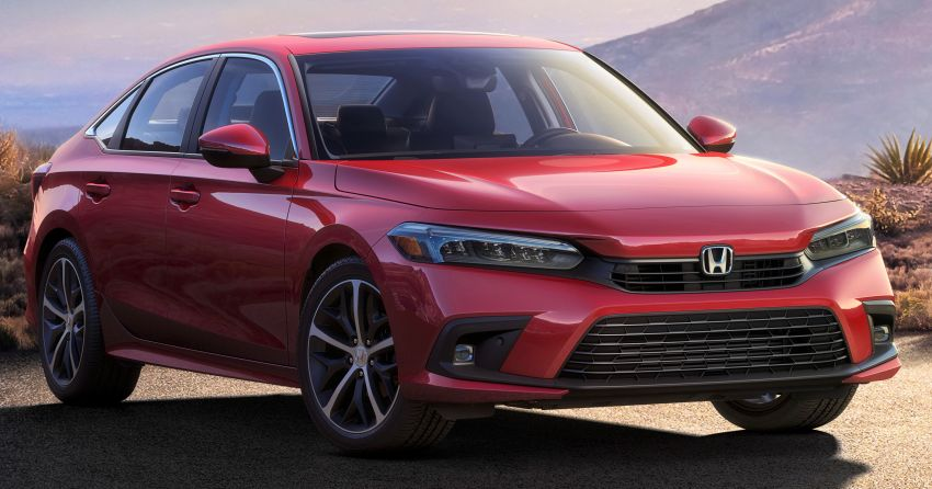 2022 Honda Civic – official image of production sedan Image #1279377