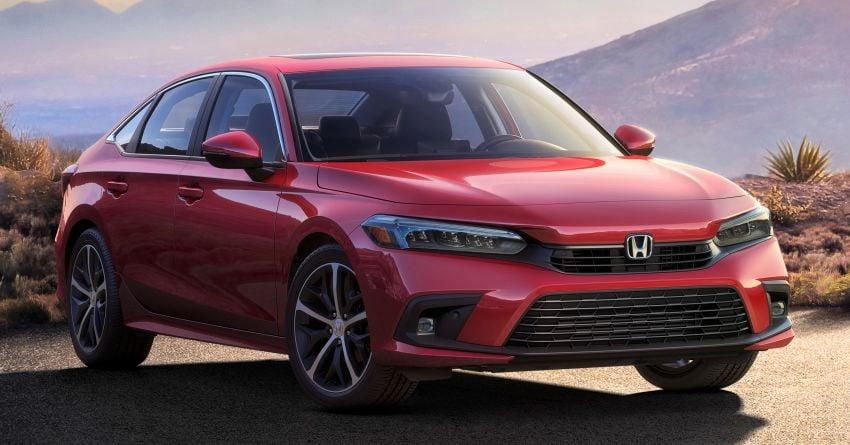 2022 Honda Civic Sedan makes its full debut – all-new styling; more powerful VTEC Turbo engine; updated kit Image #1288665