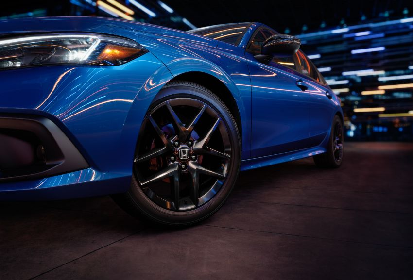 2022 Honda Civic Sedan makes its full debut – all-new styling; more powerful VTEC Turbo engine; updated kit Image #1288674