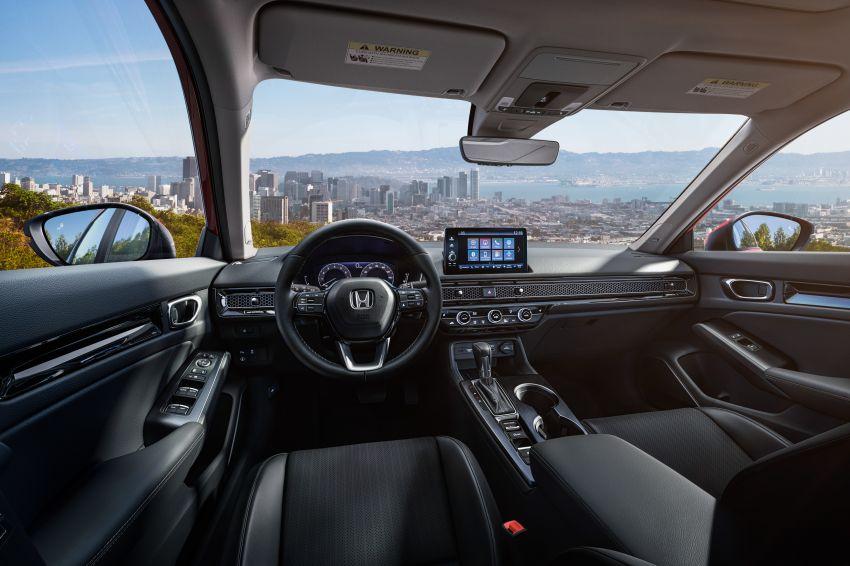 2022 Honda Civic Sedan makes its full debut – all-new styling; more powerful VTEC Turbo engine; updated kit Image #1288675