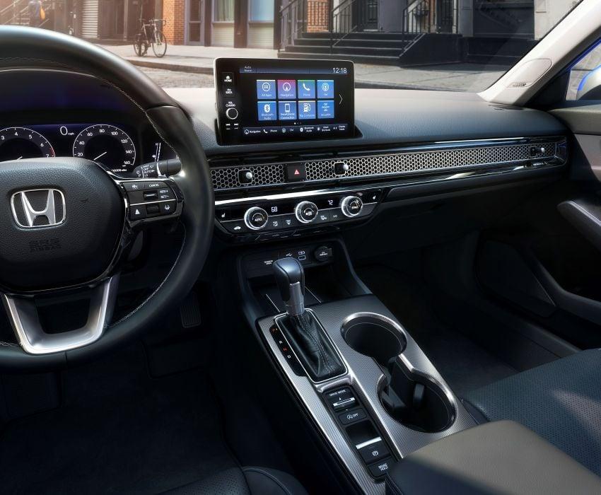 2022 Honda Civic Sedan makes its full debut – all-new styling; more powerful VTEC Turbo engine; updated kit Image #1288676