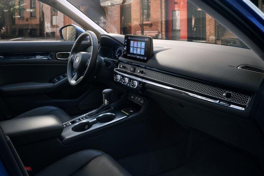 2022 Honda Civic Sedan makes its full debut – all-new styling; more powerful VTEC Turbo engine; updated kit Image #1288677