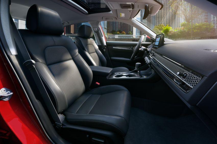 2022 Honda Civic Sedan makes its full debut – all-new styling; more powerful VTEC Turbo engine; updated kit Image #1288678
