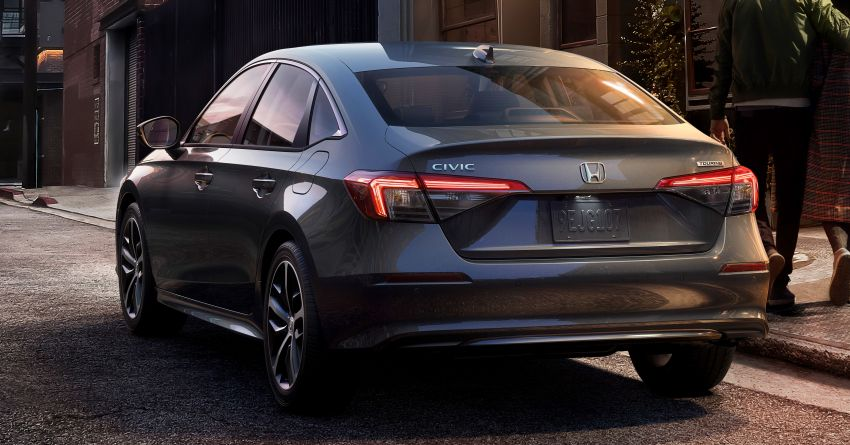 2022 Honda Civic Sedan makes its full debut – all-new styling; more powerful VTEC Turbo engine; updated kit Image #1288666